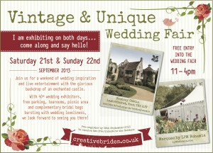 Vintage & Unique Wedding Fair Scotney Castle, Kent