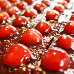 Cherry Chocolate Squares