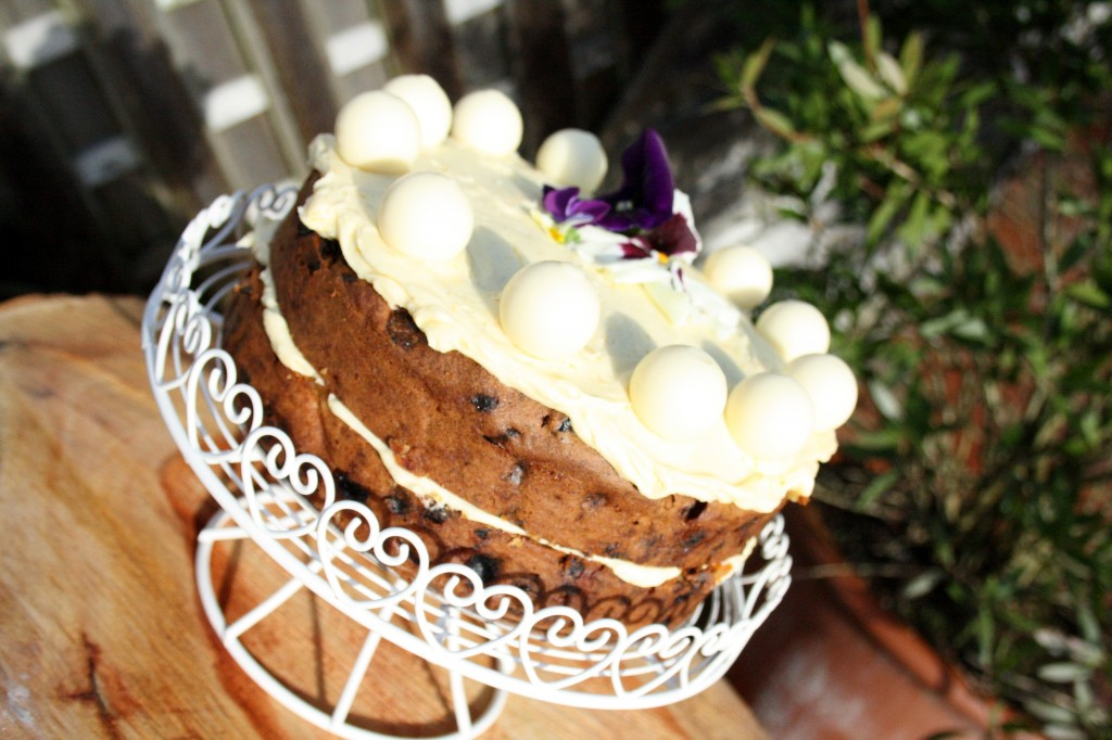 Easter Time With Allergies Gluten Nut Free Light Fruity Simnel Cake